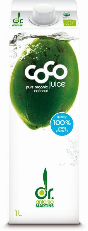 Woda Kokosowa Naturalna Bio 1 l - Coco (Dr. Martins)