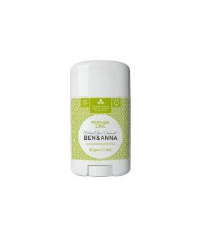 Naturalny Dezodorant Na Bazie Sody, Persian Lime (sztyft Plastikowy), 0% Aluminium, 60 G, Ben&anna
