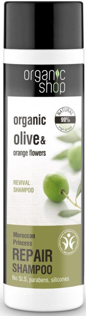 Szampon Do Włosów Rewitalizujący Marokańska Księżniczka 280 Ml - Organic Shop