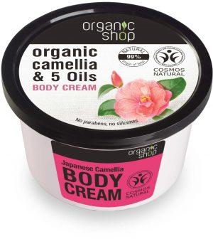 Krem Do Ciała Japońska Kamelia 250 Ml - Organic Shop