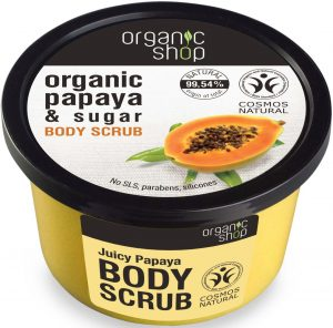 Peeling Do Ciała Soczysta Papaja 250 Ml - Organic Shop