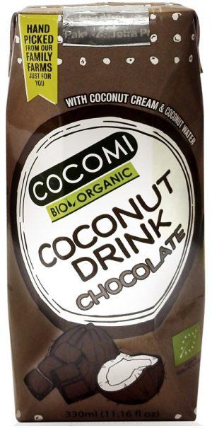 Napój Kokosowy o Smaku Czekoladowym Bio 330 Ml - Cocomi