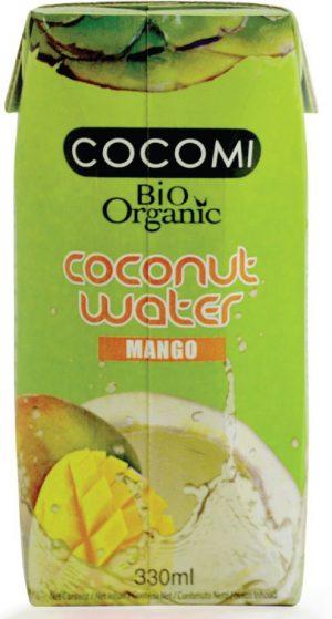 Woda Kokosowa o Smaku Mango Bio 330 Ml - Cocomi