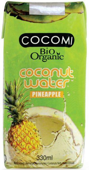 Woda Kokosowa o Smaku Ananasa Bio 330 Ml - Cocomi