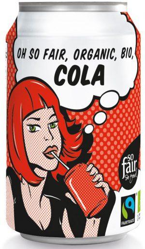 Cola Fair Trade Bio 330 Ml (Puszka) - Oxfam