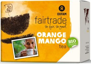 Herbata Czarna o Smaku Mango - Pomarańcza Fair Trade Bio (20 x 1,8 G) - Oxfam
