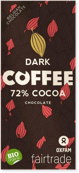 Czekolada Gorzka z Kawałkami Fair Trade Bio 100 g - Oxfam