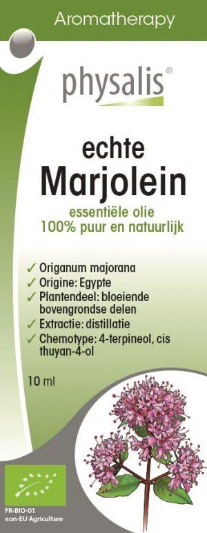 Olejek Eteryczny Marjolaine (Majeranek) Bio 10 Ml - Physalis
