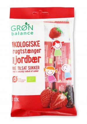 Przekąski Dla Dzieci Truskawkowe Bio 100 g (5 x 20 G) - Gron Balance