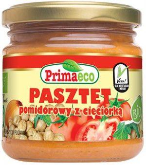Pasztet Pomidorowy z Cieciorką Bio 160 g - Primaeco