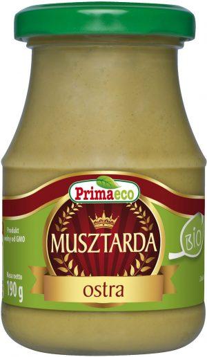 Musztarda Ostra Bio 170 g - Primaeco
