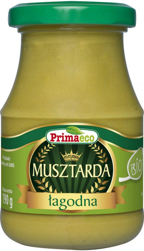 Musztarda Łagodna Bio 170 g - Primaeco