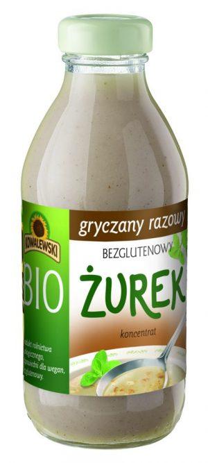 Żurek Gryczany Razowy Bezglutenowy Koncentrat Bio 320 Ml - Kowalewski