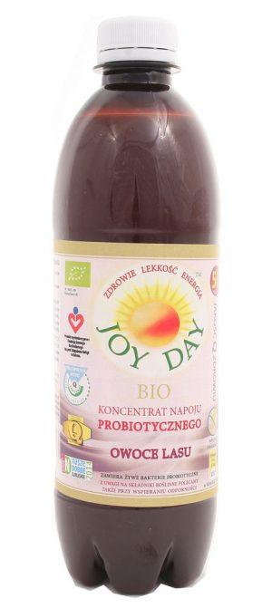 Napój Probiotyczny Owoce Lasu 500 Ml- Joy Day