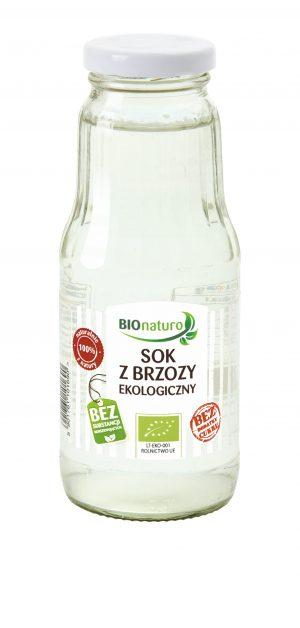 Sok z Brzozy Naturalny Bio 300 Ml - Bionaturo
