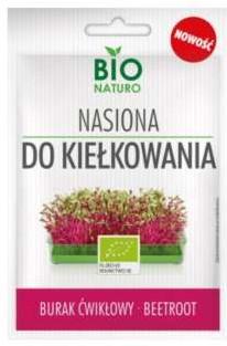 Nasiona Do Kiełkowania Burak Ćwikłowy Bio 10g / Bionaturo