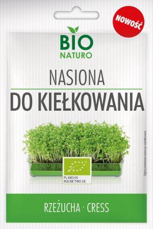Nasiona Do Kiełkowania Rzeżucha Bio 25g / Bionaturo