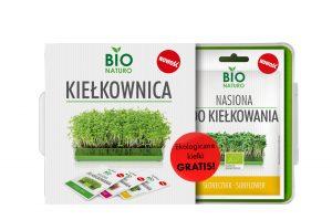 Nasiona Do Kiełkowania Słonecznik Bio 40g / Bionaturo