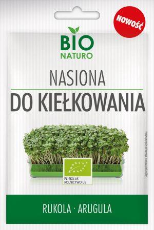 Nasiona Do Kiełkowania Rukola Bio 25g / Bionaturo