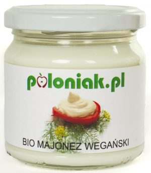 Majonez Wegański Bio 180 Ml - Poloniak