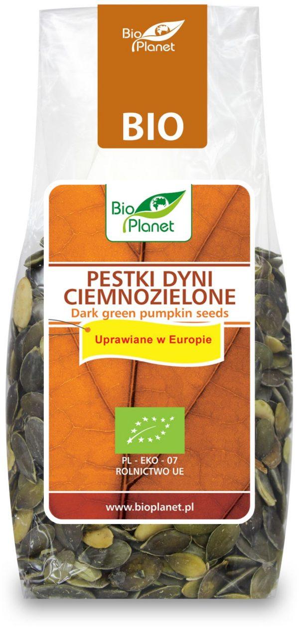 Pestki Dyni Ciemnozielone (Uprawiane w Europie) Bio 150 g - Bio Planet