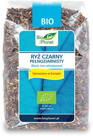 Ryż Czarny (Uprawiany w Europie) Bio 400 g - Bio Planet