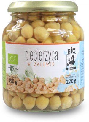Ciecierzyca w Zalewie w Słoiku Bio 350 g (215 G) - Bio Europa