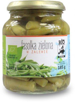 Fasolka Zielona w Zalewie w Słoiku Bio 340 g (185 G) - Bio Europa