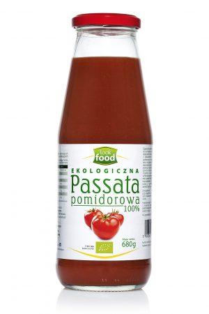 Passata Pomidorowa Bio 680 g - Look Food