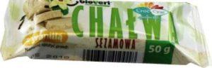 Chałwa Sezamowa z Wanilią Bio 50 g - Croc-Crac (Bioveri)