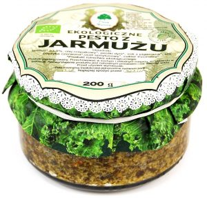 Pesto z Jarmużu Bio 200 g - Dary Natury