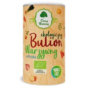 Bulion Warzywny w Proszku Bio 200 g - Dary Natury