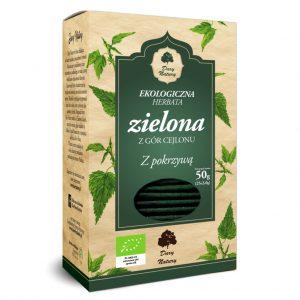 Herbata Zielona z Pokrzywą Bio (25 x 2 G) - Dary Natury