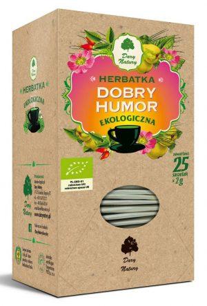 Herbatka Dobry Humor Bio (25 x 2 G) - Dary Natury