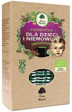 Herbatka Dla Dzieci i Niemowląt Bio 25X2 g - Dary Natury
