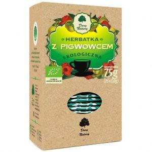 Herbatka z Pigwowcem Bio (25 x 3 G) - Dary Natury