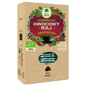 Herbatka Owocowy Raj Bio (25 x 2,5 G) - Dary Natury