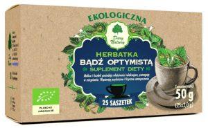 Herbatka Bądź Optymistą Bio (25 x 2 G) - Dary Natury