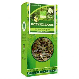 Herbatka Oczyszczenie Bio 50 g - Dary Natury