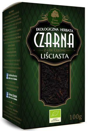 Herbata Czarna Liściasta Bio 100 g - Dary Natury