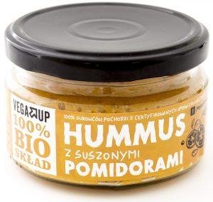 Hummus z Suszonymi Pomidorami Bio 190 g - Vega Up