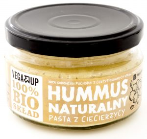 Hummus Naturalny Bio 190 g - Vega Up
