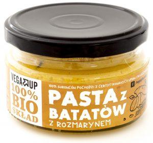 Pasta z Batatów z Rozmarynem Bio 190 g - Vega Up
