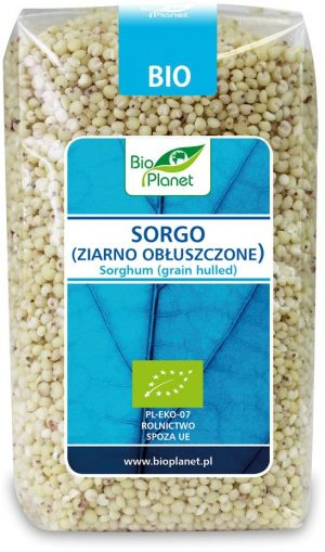 Sorgo (Ziarno Obłuszczone) Bio 500 g - Bio Planet