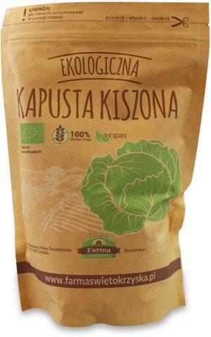 Kapusta Kiszona Bio 850 g (550 G) (Doypack) - Farma Świętokrzyska