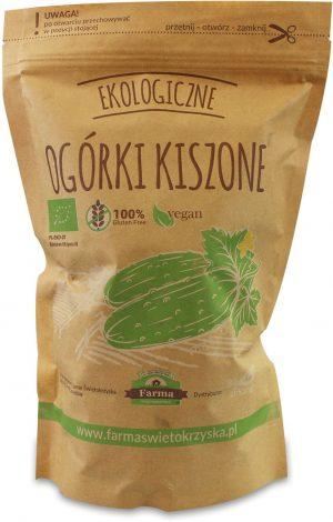 Ogórki Kiszone Bio 1 Kg (750 G) (Doypack) - Farma Świętokrzyska