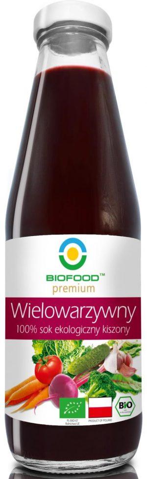 Sok Wielowarzywny Kiszony Bio 500 Ml - Bio Food