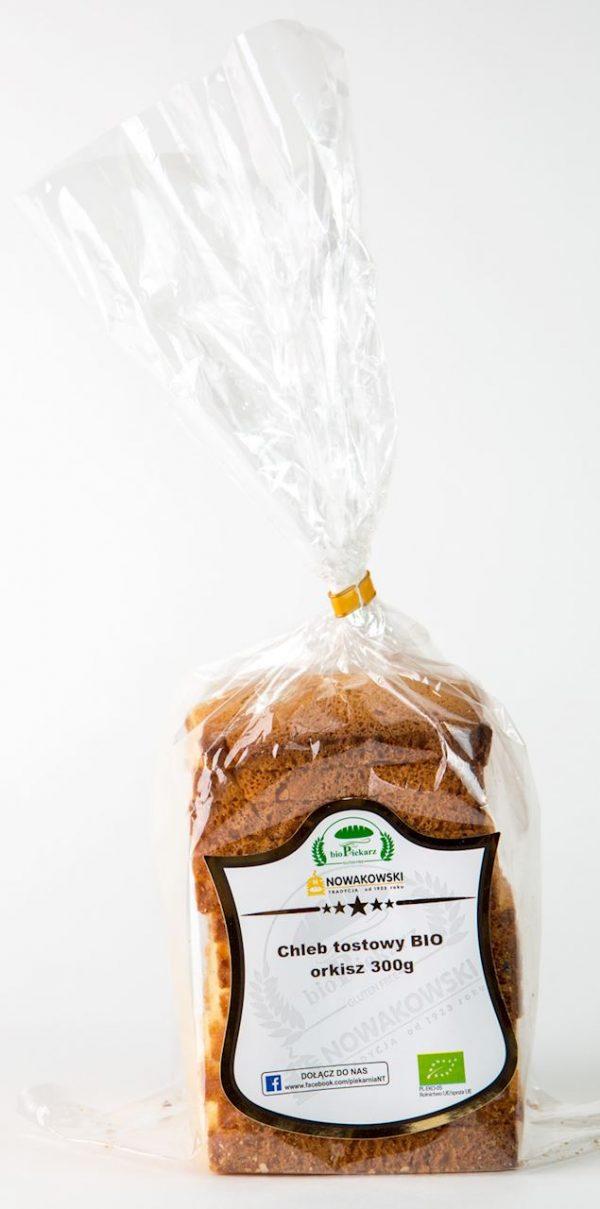 Chleb Tostowy Orkiszowy Bio - Bio Piekarz Nowakowski