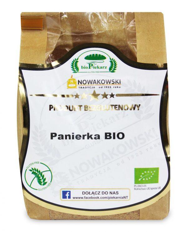 Panierka Bezglutenowa Bio 300 g - Bio Piekarz Nowakowski