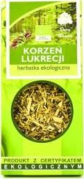 Herbatka Korzeń Lukrecji Bio 50 g - Dary Natury